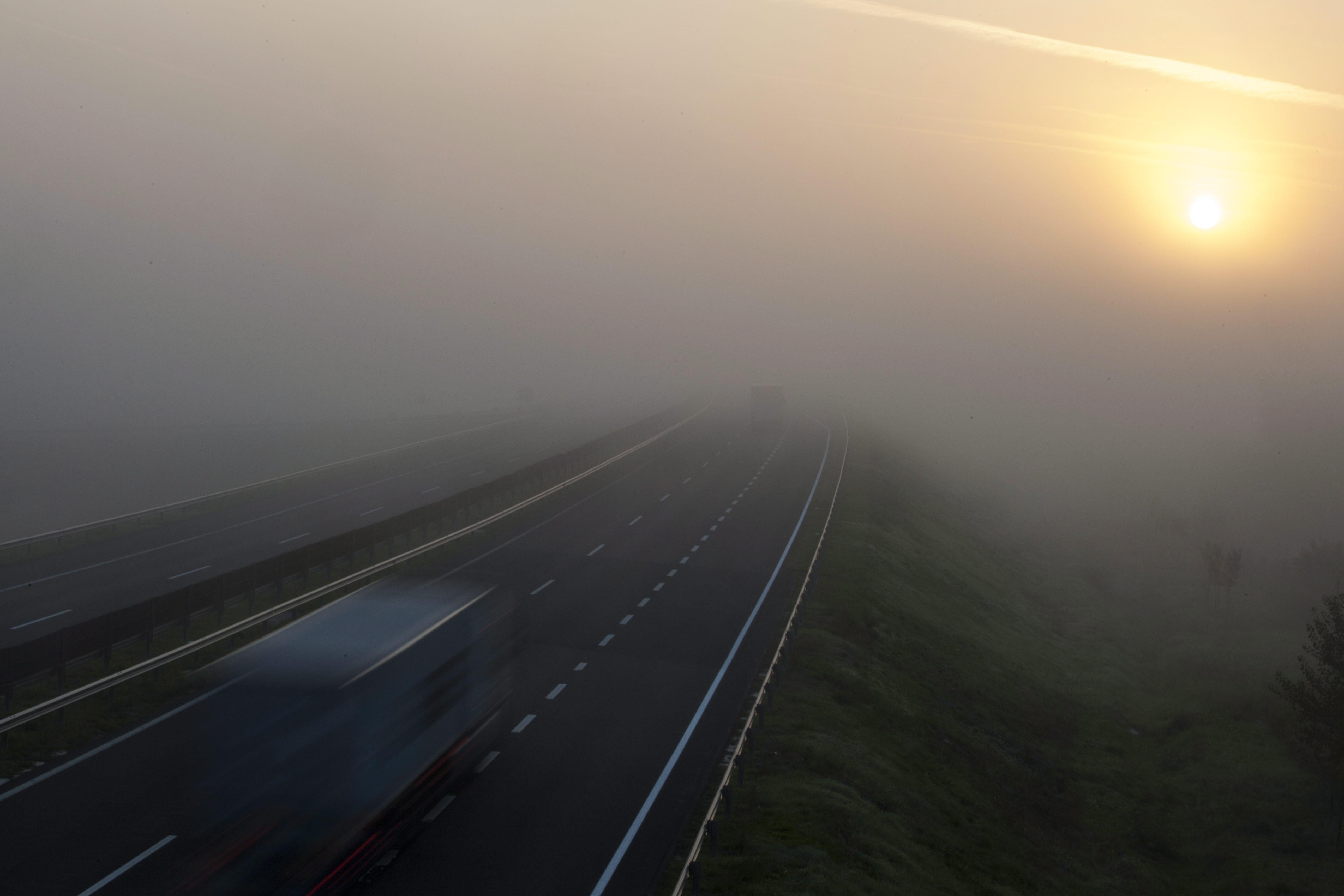 A látás reggel ködös - Orientáció maradvány látással