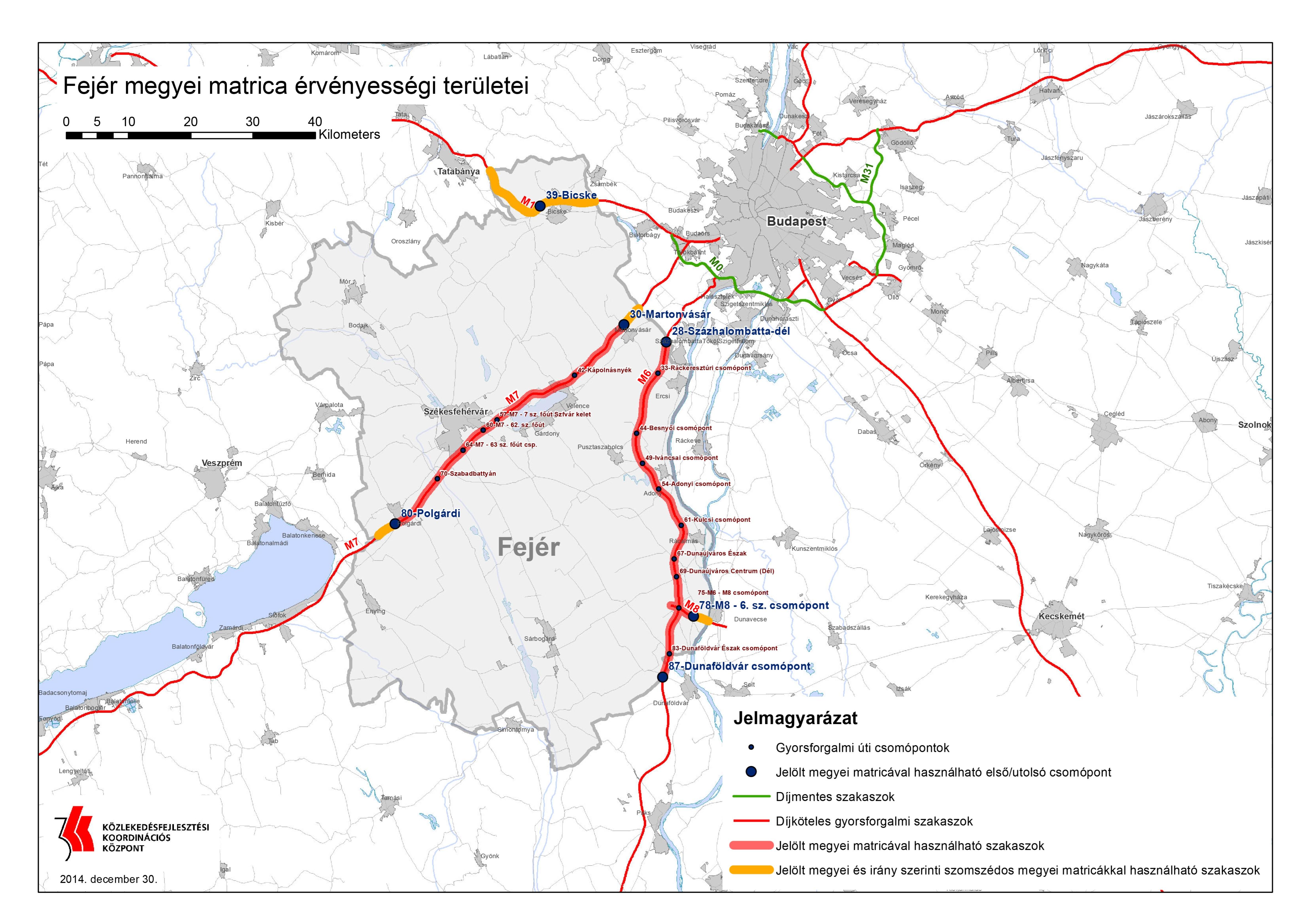 budapest megyei matrica térkép Fizetőssé váltak a gyorsforgalmi utak | Dunaújváros Online budapest megyei matrica térkép