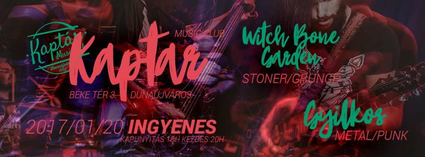 Witch Bone Garden & Gyilkos koncert