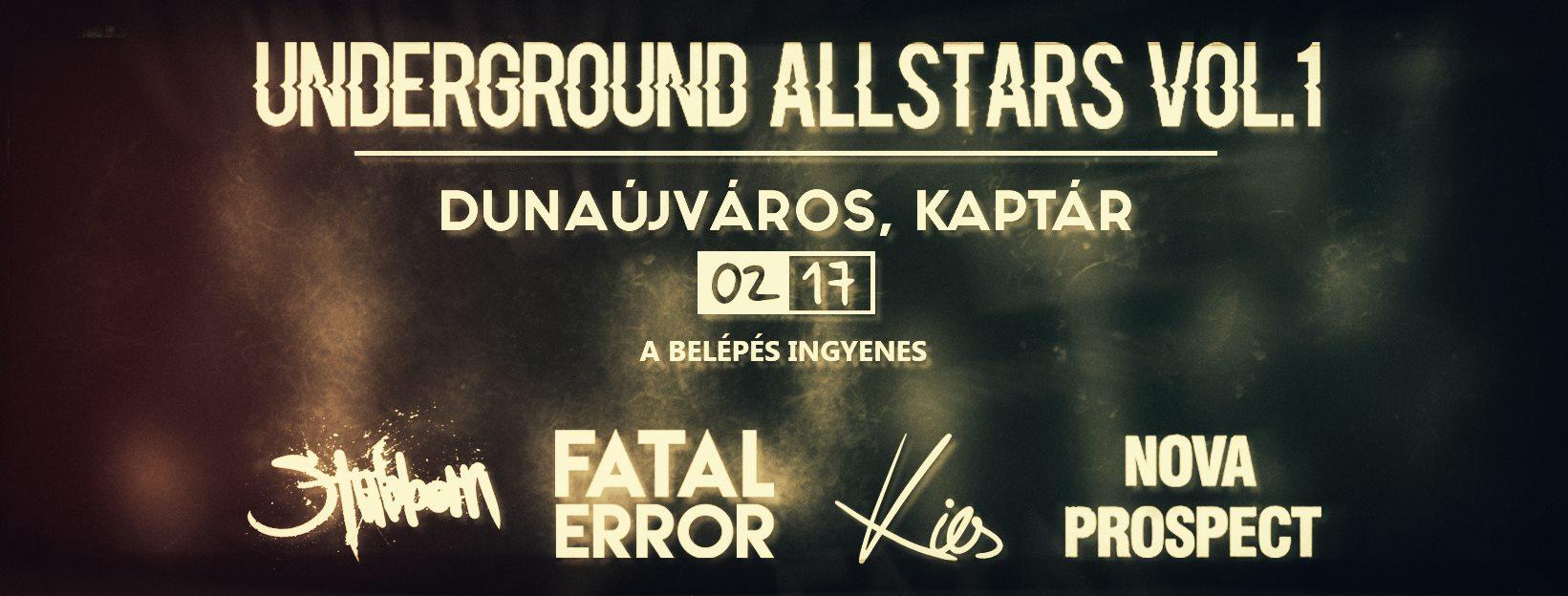 Underground Allstars Vol. 1.