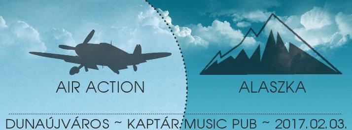 Air Action és Alaszka koncert