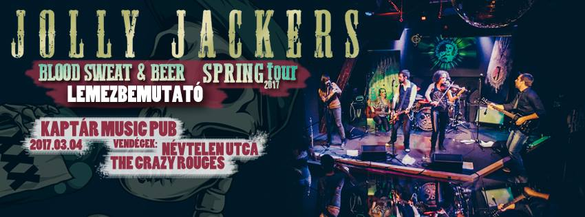 Jolly Jackers - Névtelen utca - The Crazy Rogues