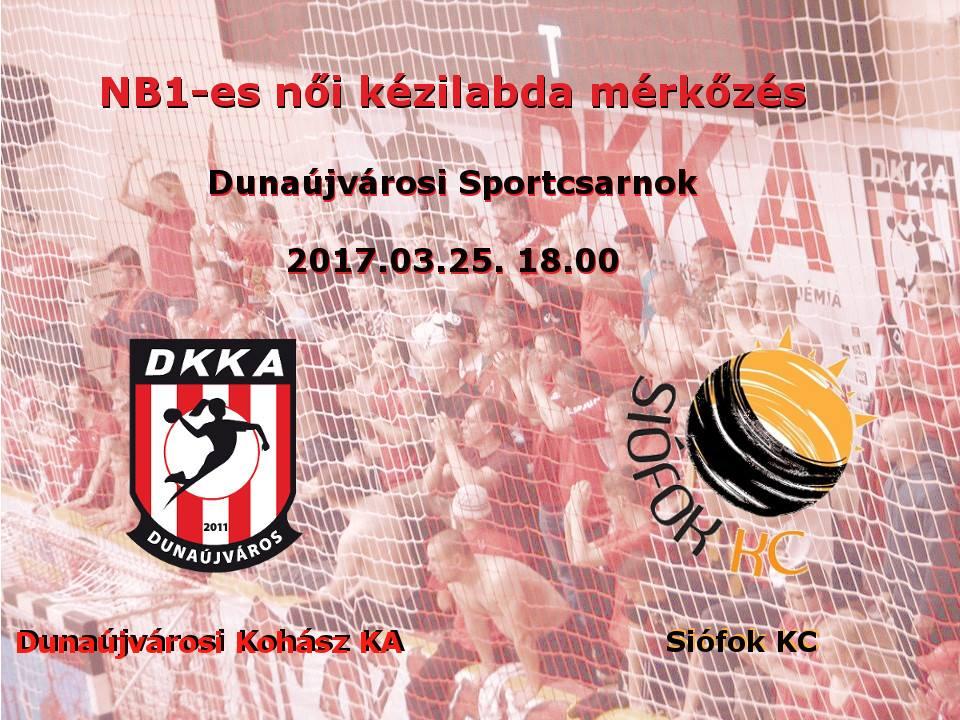 DKKA - Siófok KC