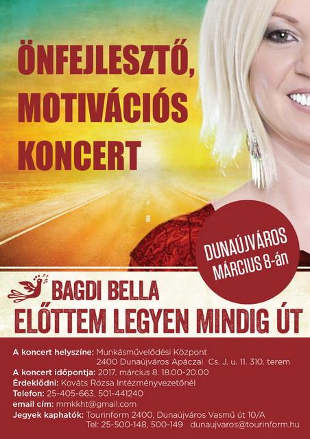 Bagdi Bella koncertje ELMARAD!