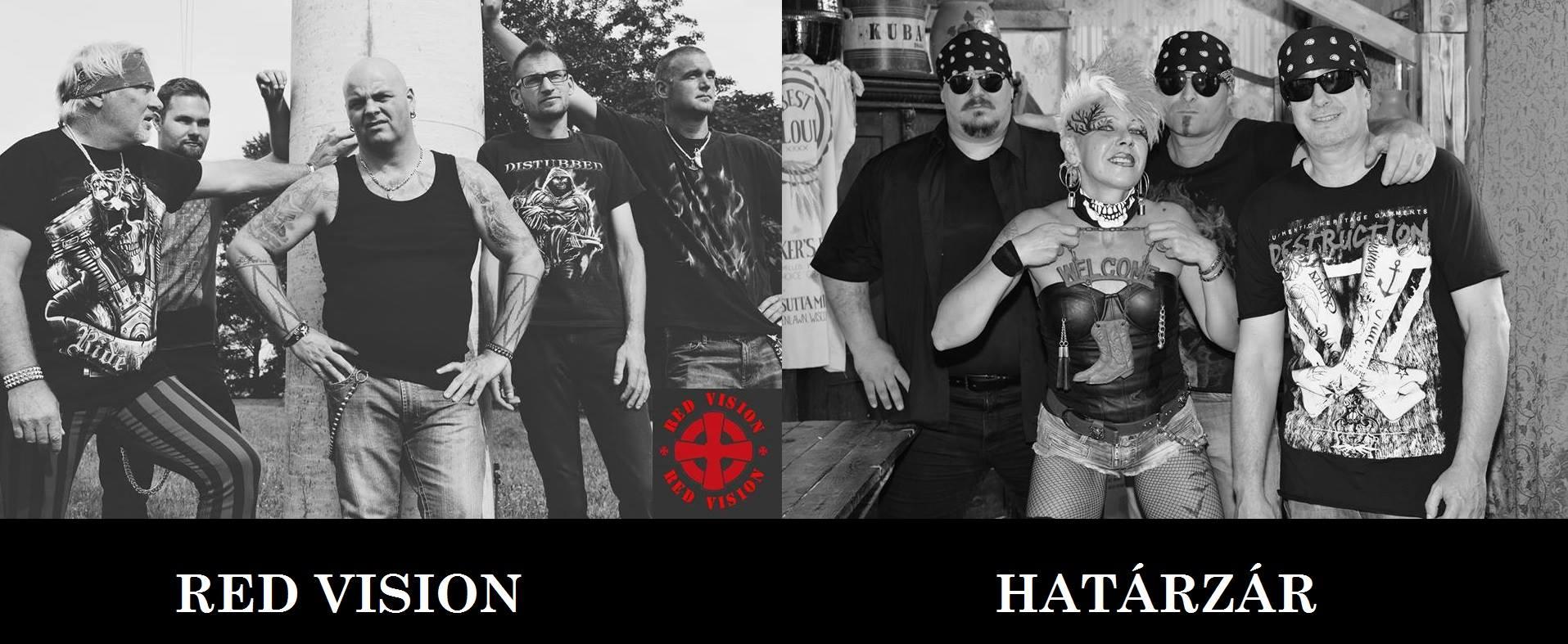 Red Vision, Határzár, Black Jack koncert
