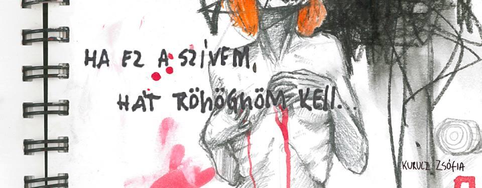 Ha ez a szívem, hát röhögnöm kell - Kurucz Zsófia kiállítása