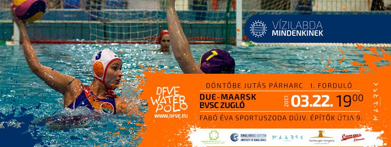 Döntőbe jutás 1. forduló: DUE-Maarsk - BVSC