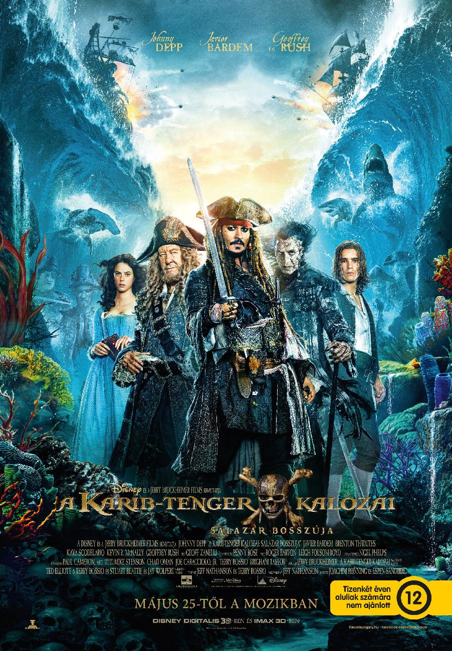 Karib-tenger kalózai: Salazar bosszúja (Pirates of the Caribbean: Dead Men Tell No Tales)