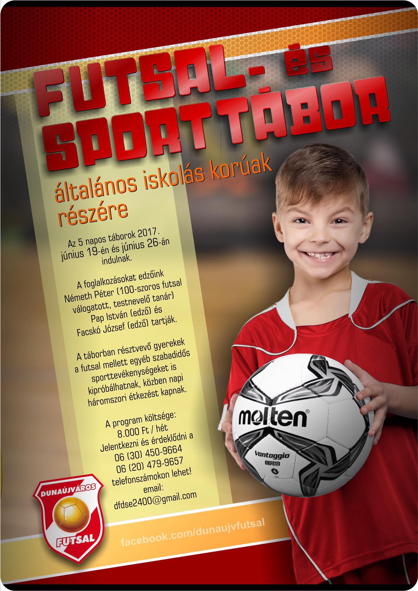 Futsal- és sporttábor