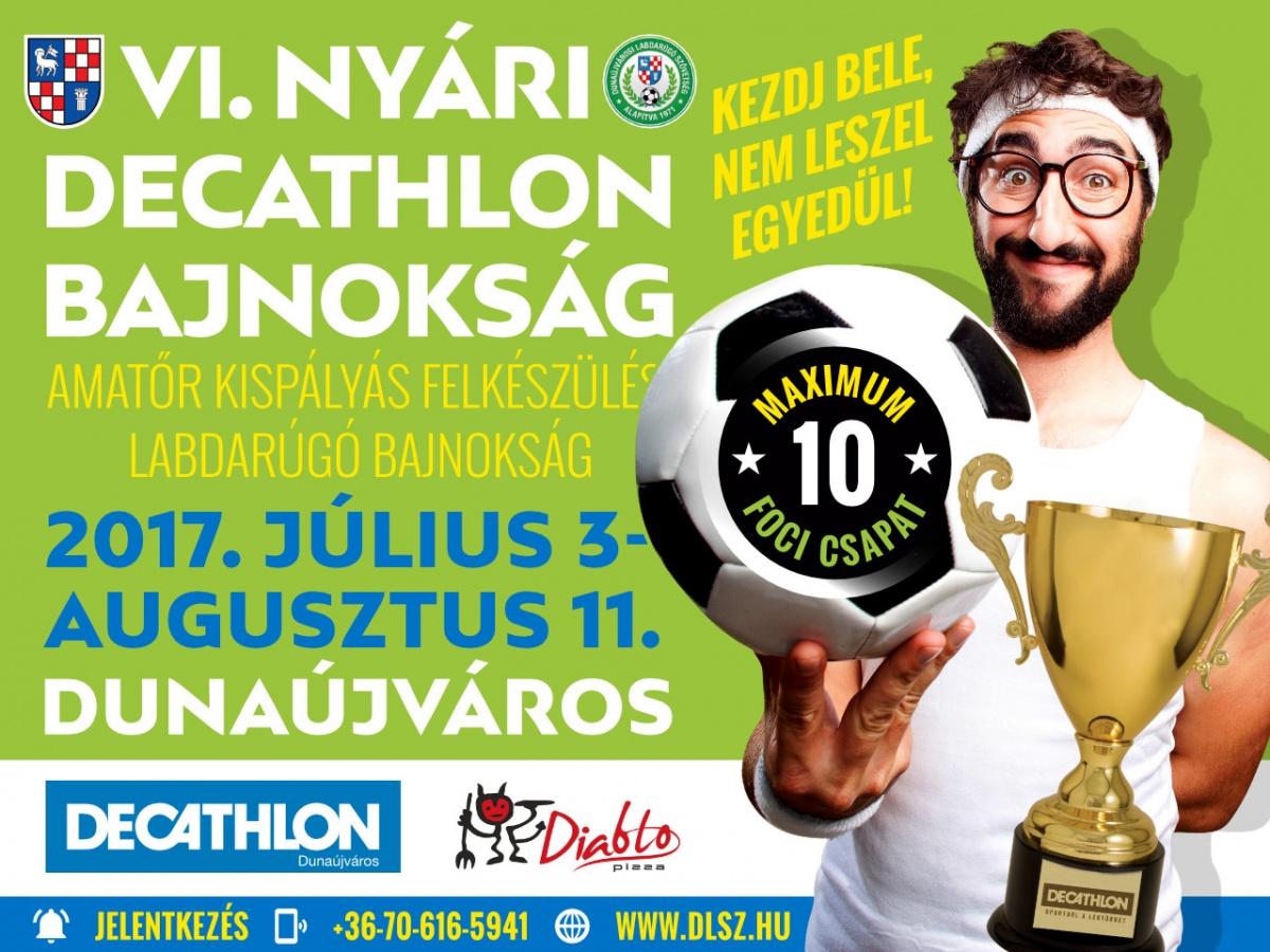 VI. Decathlon Nyári Kispályás Foci Bajnokság