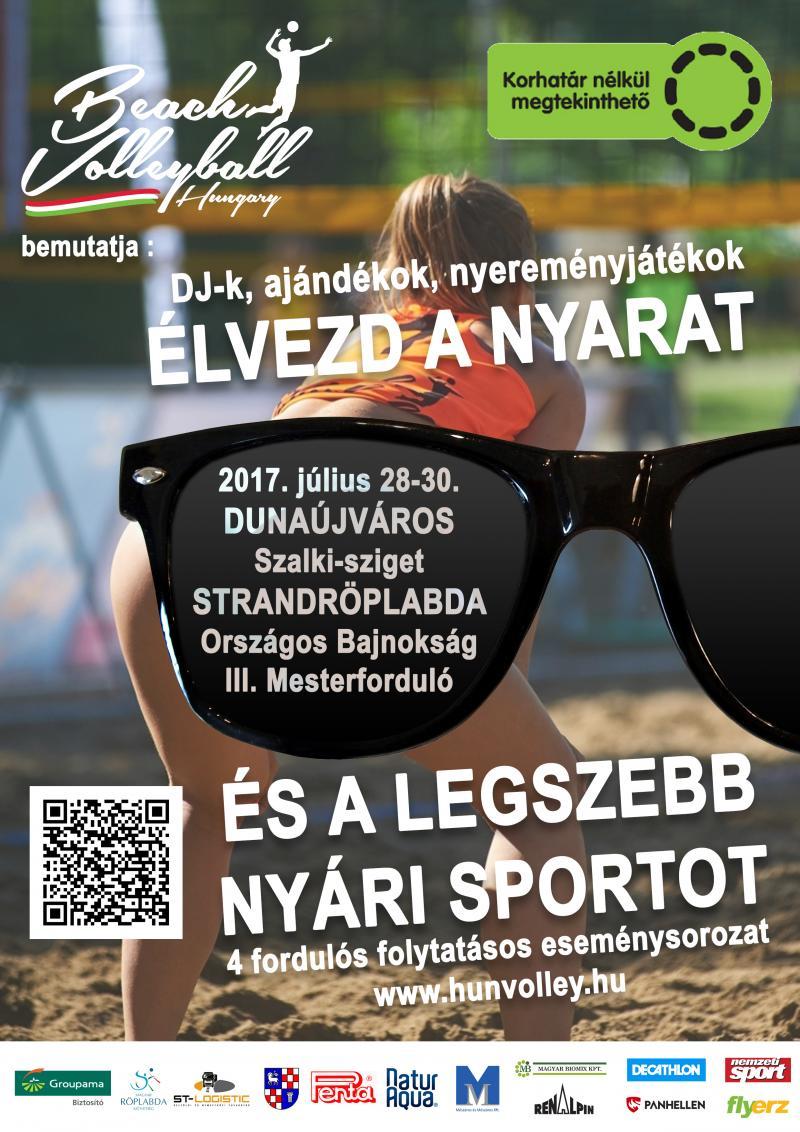 Strandröplabda Országos Bajnokság III. Mesterforduló