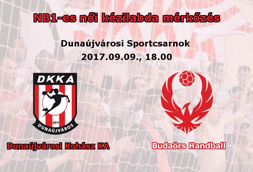 Dunaújvárosi Kohász KA - Budaörs Handball