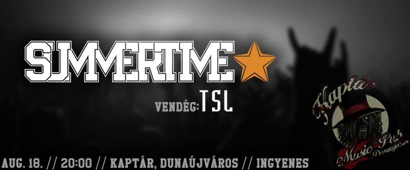 Summertime & TSL koncert