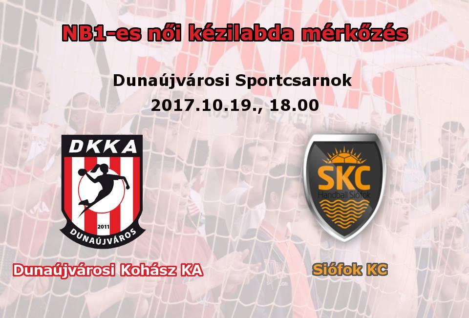 Dunaújvárosi Kohász KA - Siófok KC