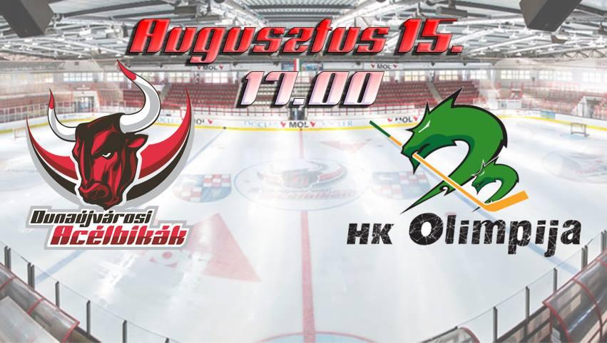 Dunaújvárosi Acélbikák - HK Olimpija Ljubljana