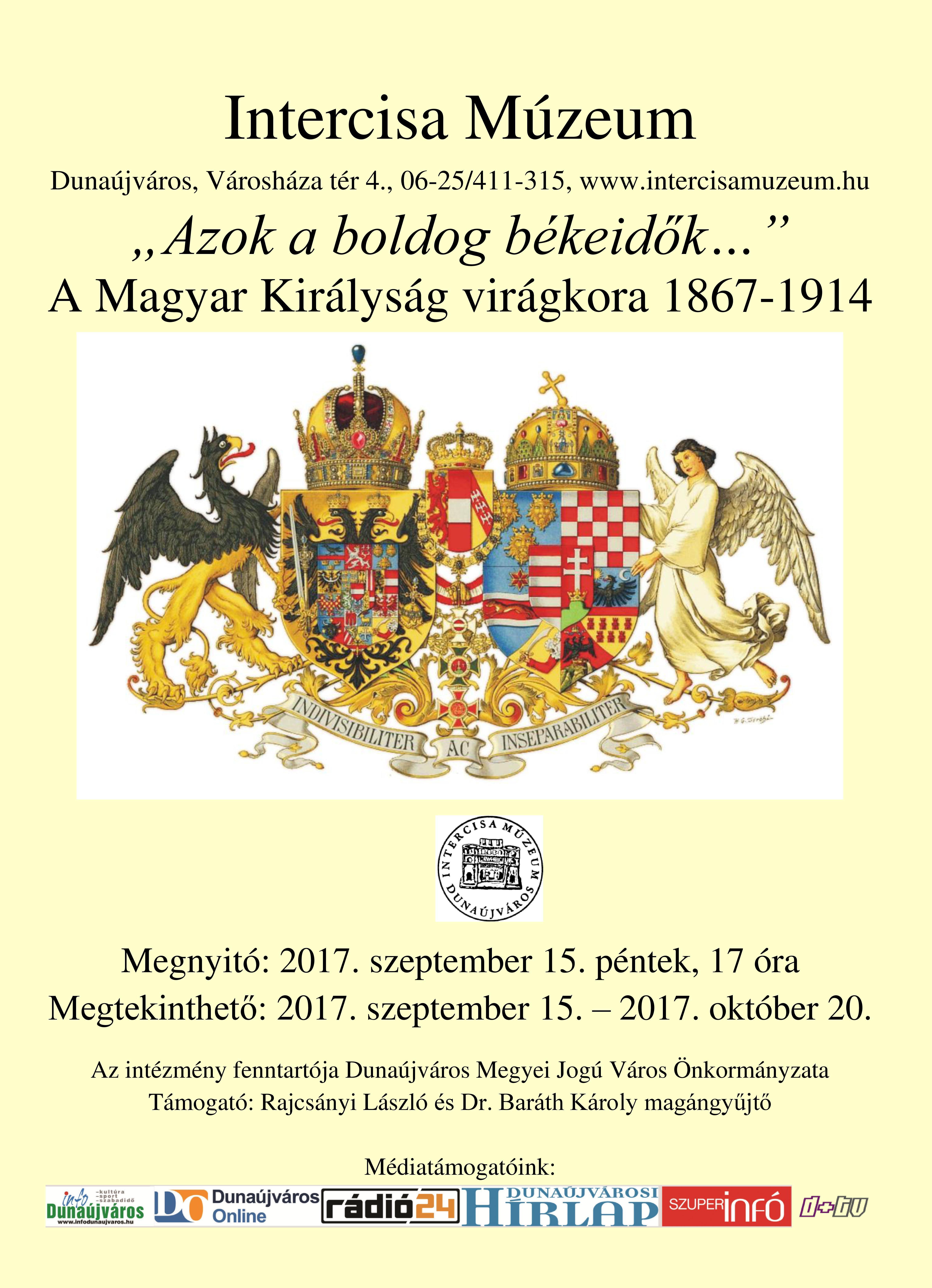 A Magyar Királyság virágkora 1867-1914