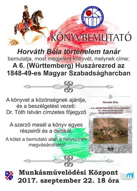 Horváth Béla könyvbemutatója