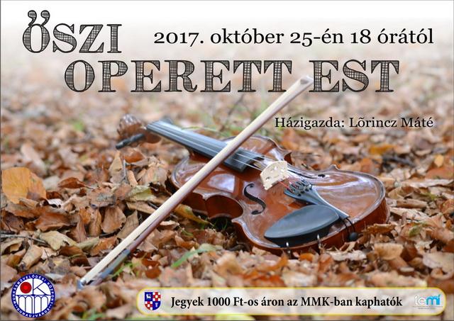 Őszi Operett Est