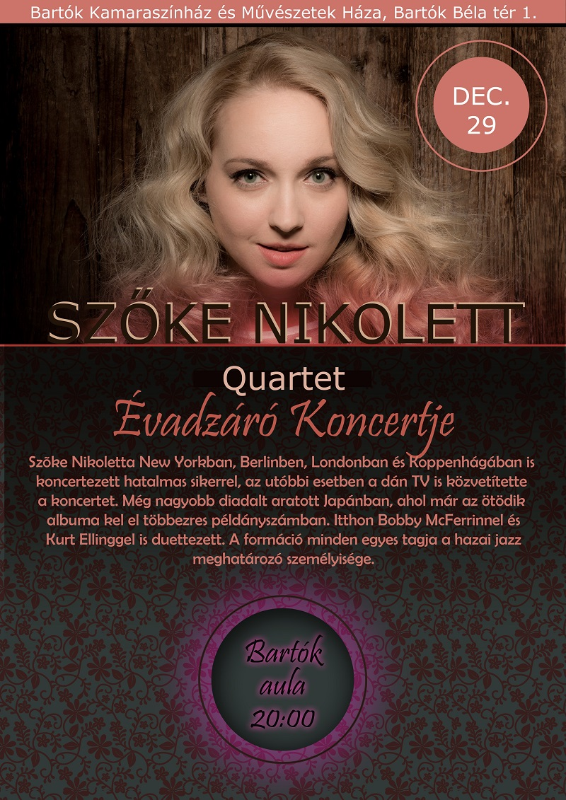 Szőke Nikoletta Quartet