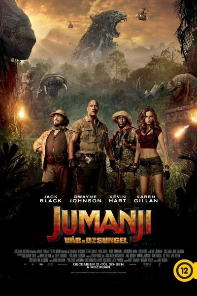 Jumanji - Vár a dzsungel /Jumanji: Welcome to the Jungle/