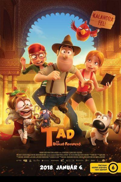 Tad, az utolsó felfedező /Tadeo Jones 2: El secreto del Rey Midas/