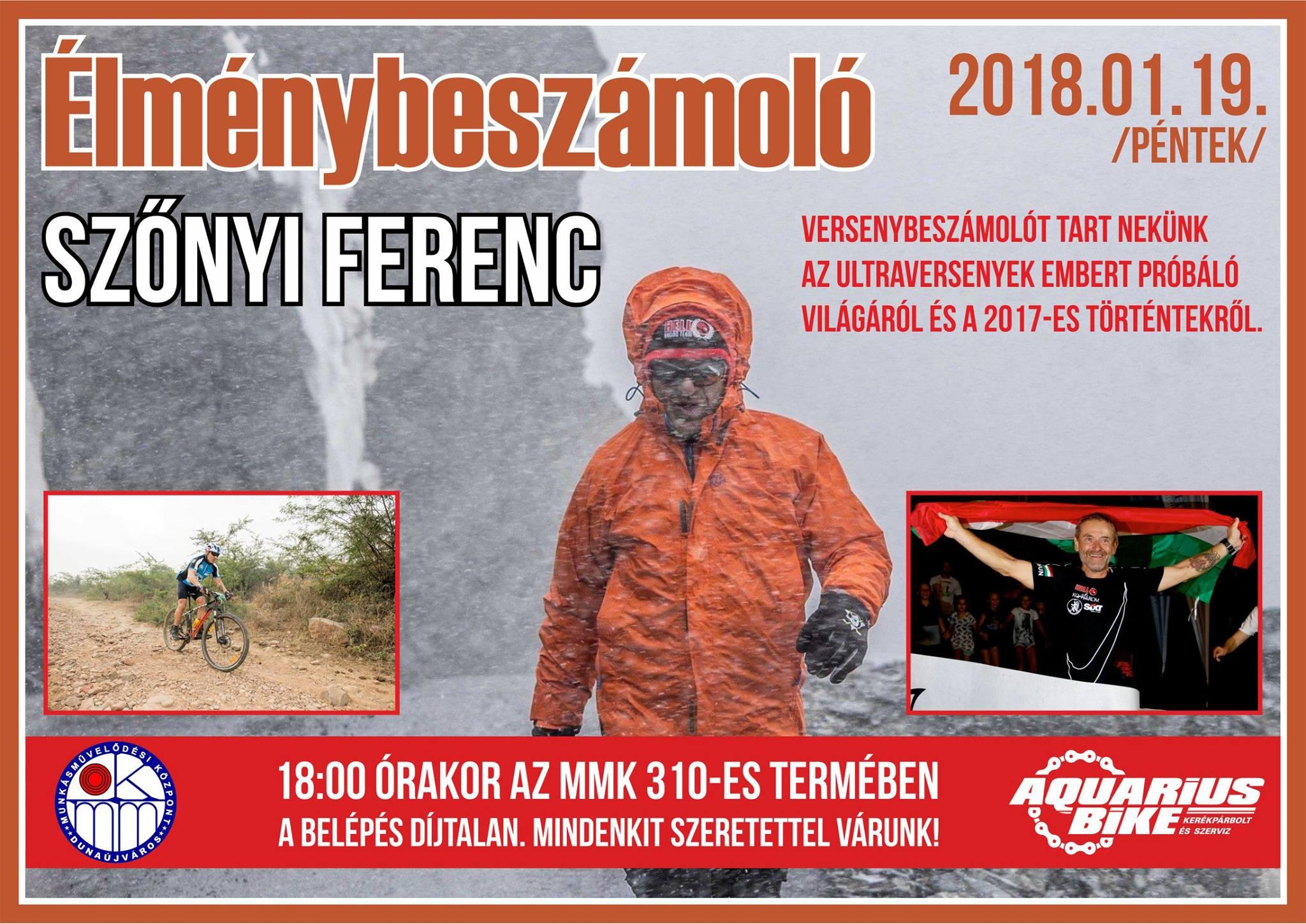Szőnyi Ferenc - Élménybeszámoló