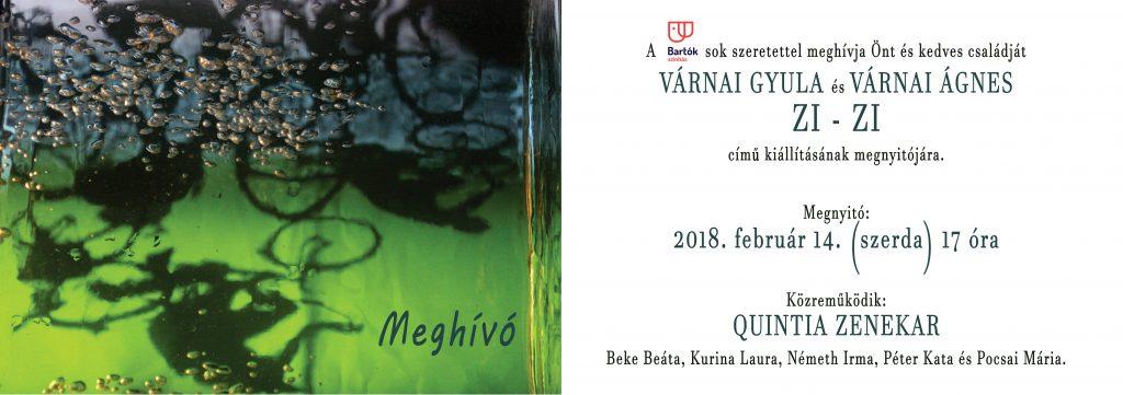 Várnai Gyula és Várnai Ágnes ZI-ZI című kiállítása
