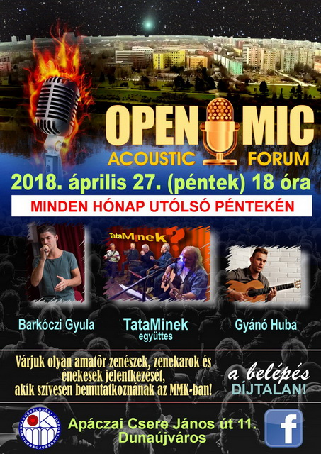 Open Mic Acoustic Forum