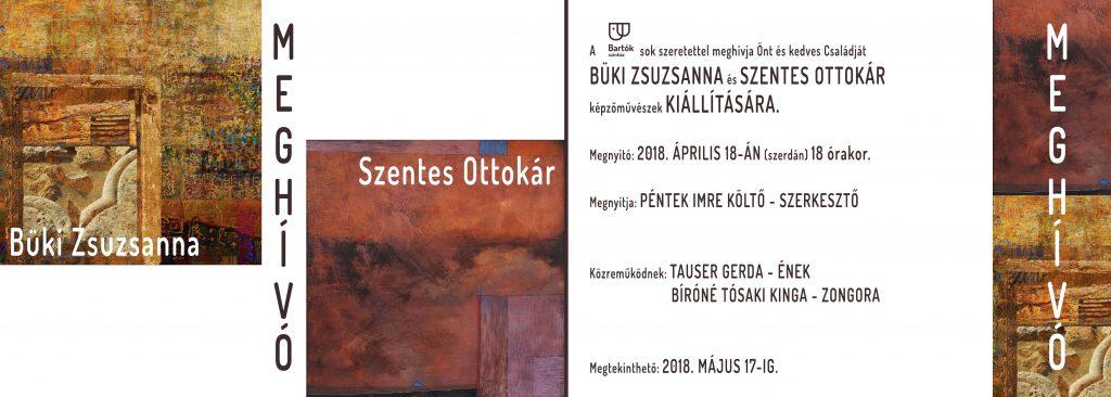 Büki Zsuzsanna és Szentes Ottokár kiállítása