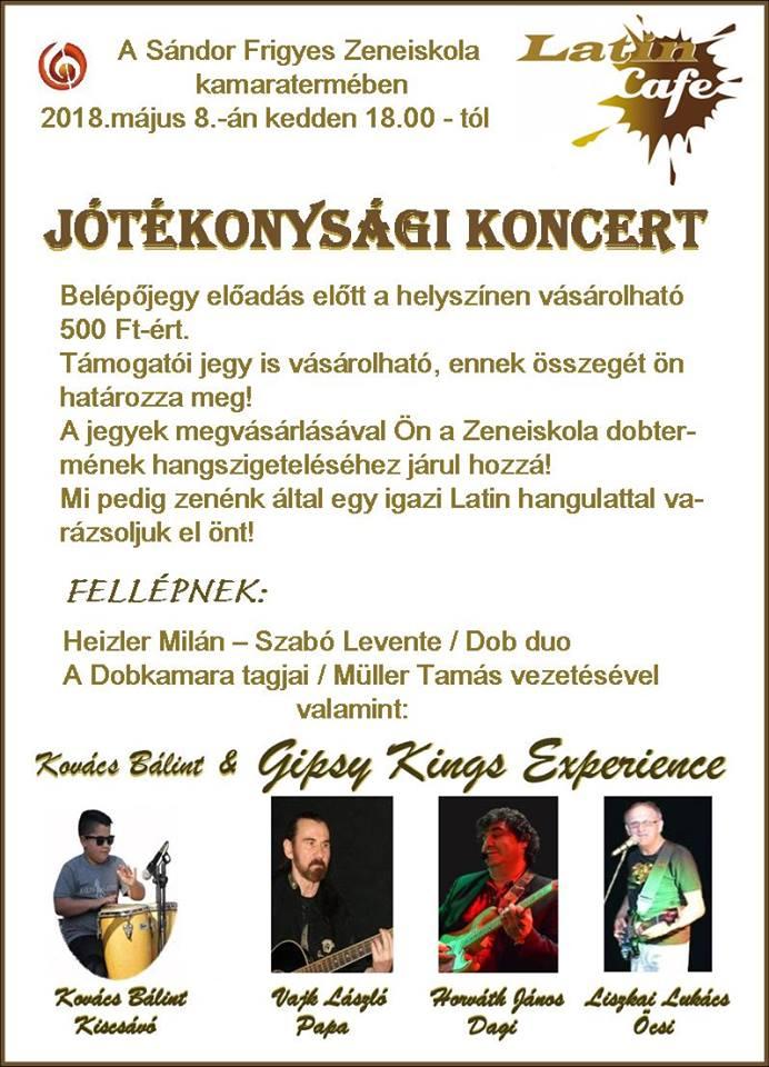 Jótékonysági Koncert a Sándor Frigyes Zeneiskolában