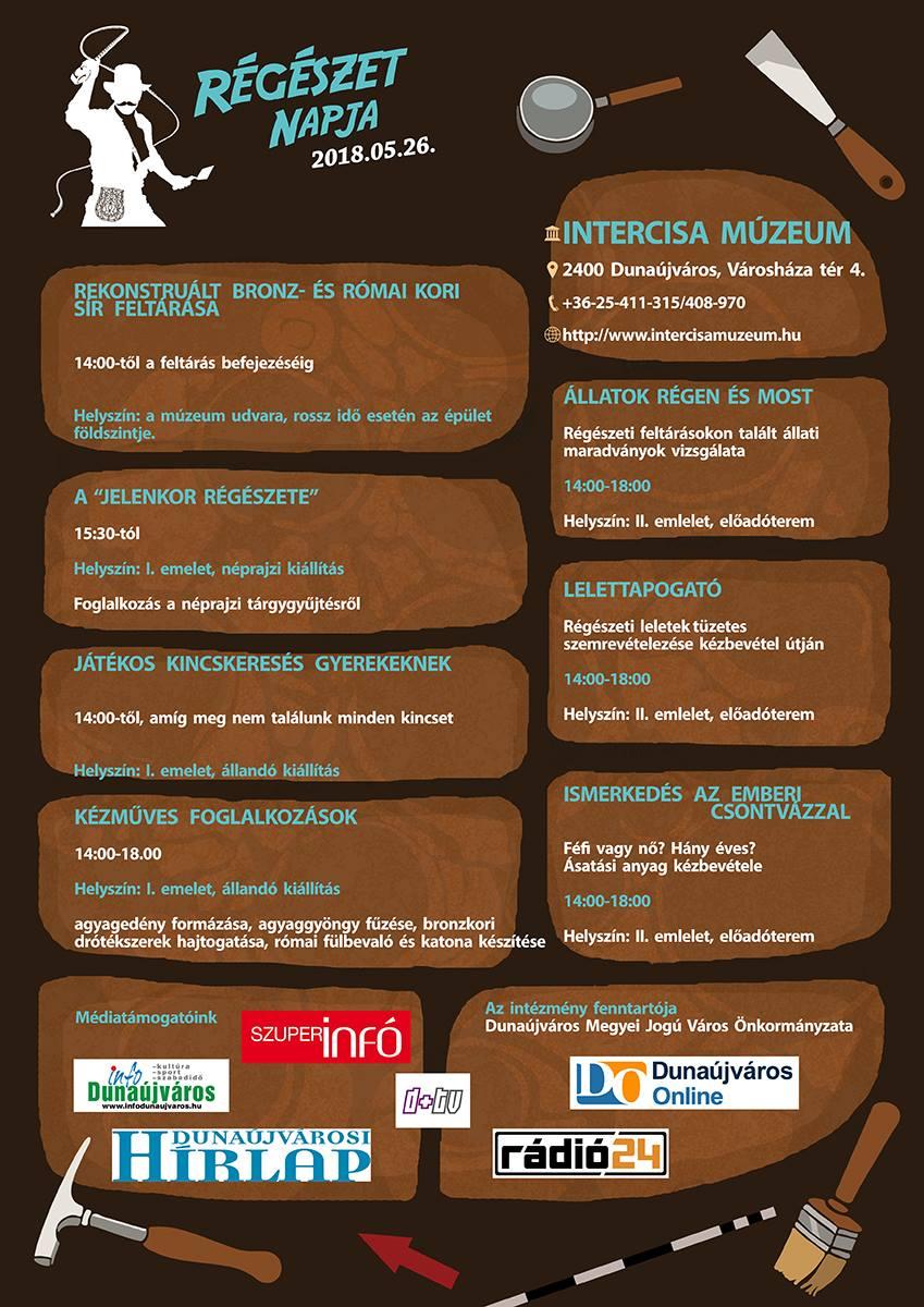 Régészet napja az Intercisa Múzeumban