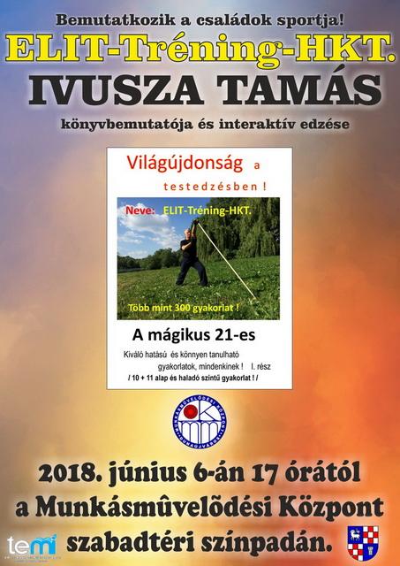 Ivusza Tamás könyvbemutatója