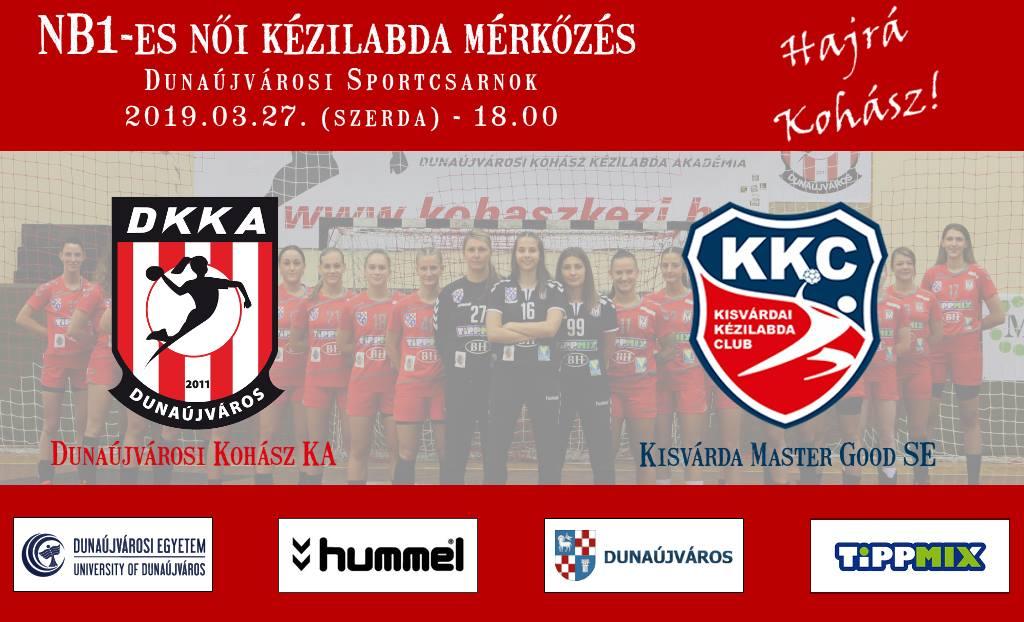 Dunaújvárosi Kohász KA - Kisvárdai KC