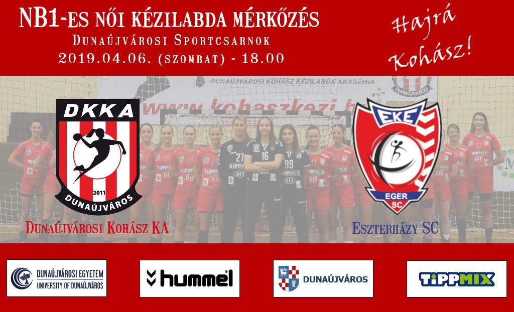 Dunaújvárosi Kohász KA - Eszterházy SC
