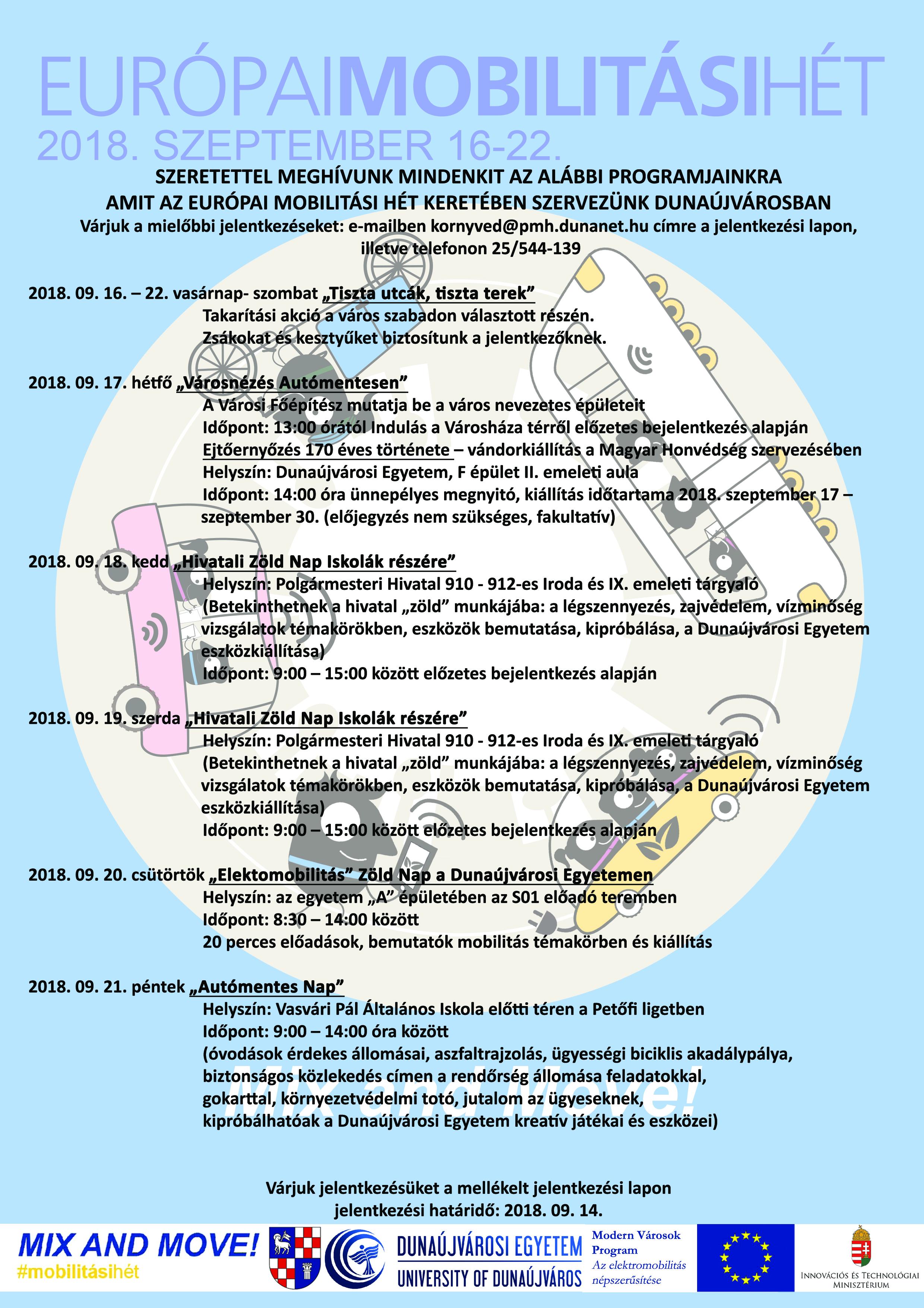 Európai Mobilitási Hét Dunaújvárosban  184663e50f