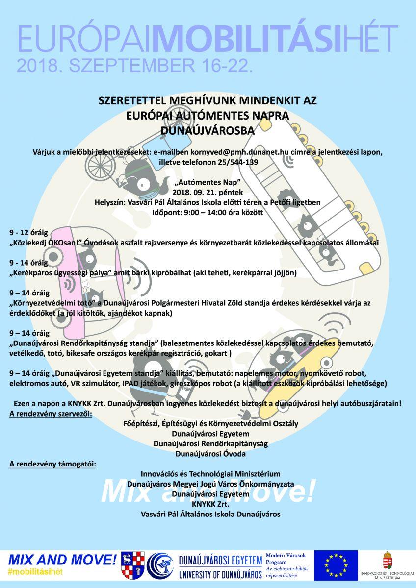 Európai Mobilitási Hét Dunaújvárosban
