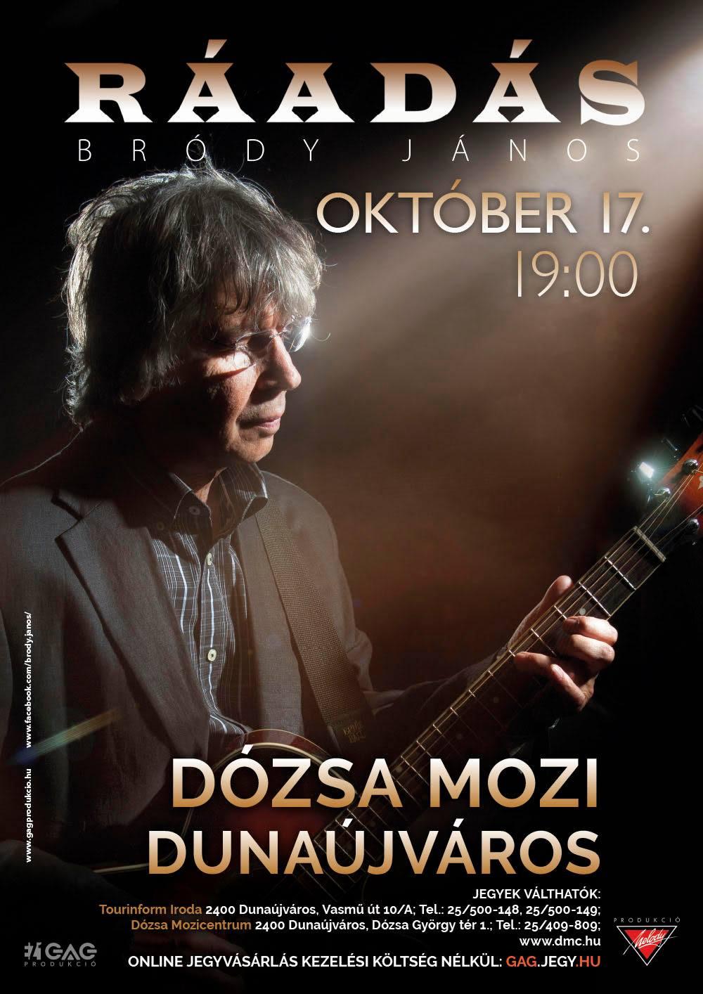 Bródy János koncertje ELMARAD!