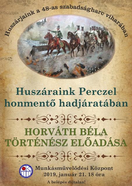 Horváth Béla történész előadása