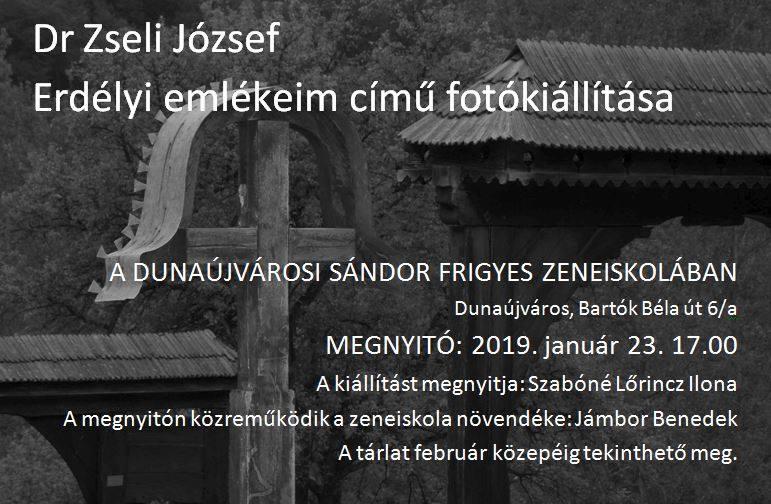 Dr Zseli József fotókiállítása
