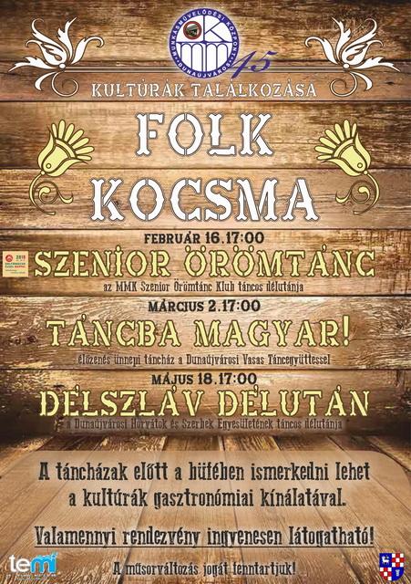 Folk Kocsma- Szenior Örömtánc