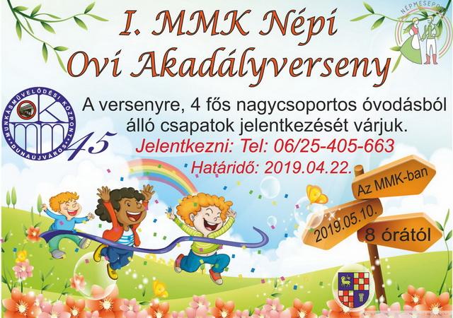 I. MMK Népi Ovi Akadályverseny