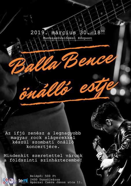 Balla Bence koncertje