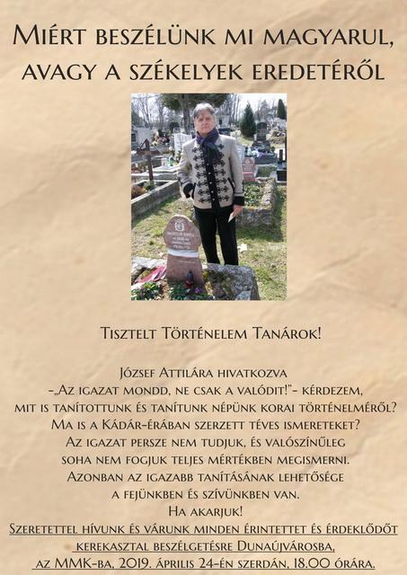 Horváth Béla kerekasztal beszélgetése