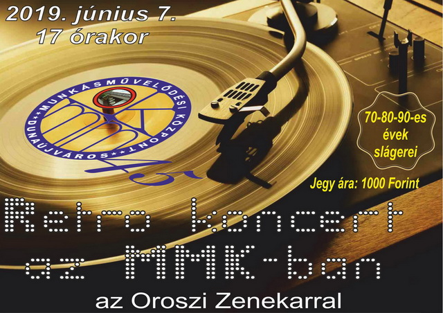 Retro koncert az MMK-ban