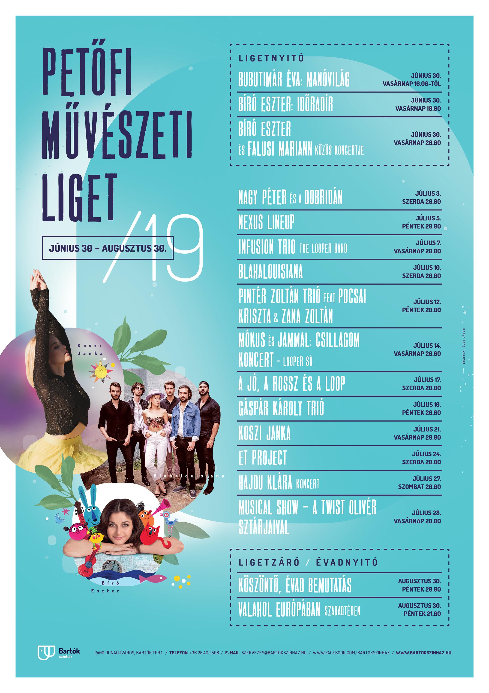 Petőfi Művészeti Liget 2019