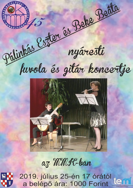 Pálinkás Eszter és Beke Beáta koncertje