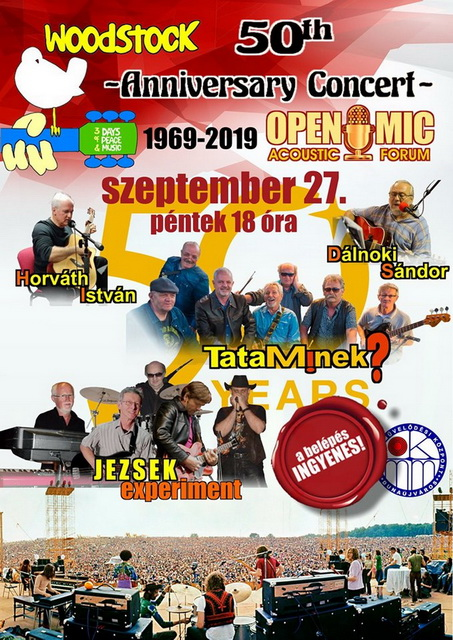 Open Mic Woodstock 50th