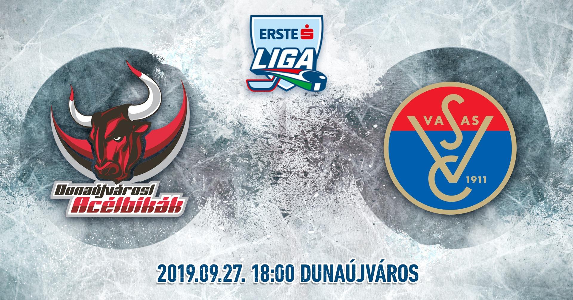 Dunaújvárosi Acélbikák - Schiller-Vasas HC