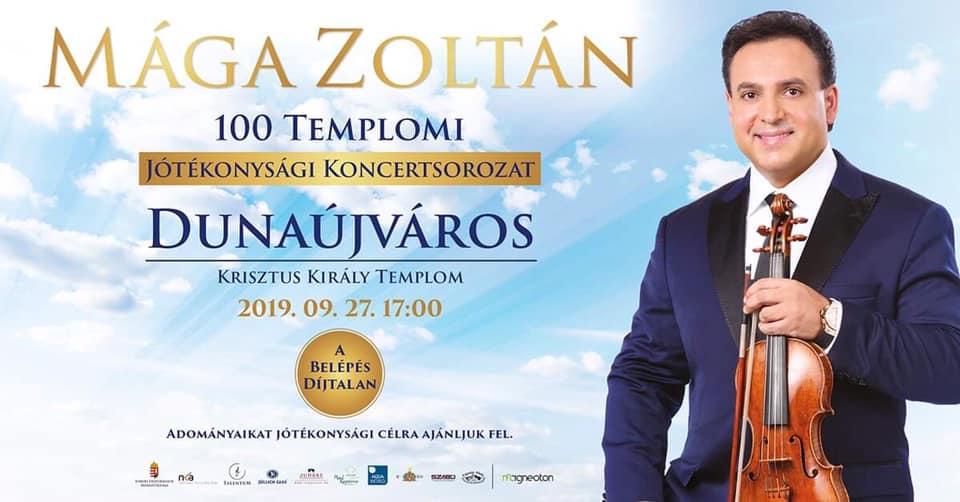 Mága Zoltán: 100 Templomi Jótékonysági Koncertsorozat