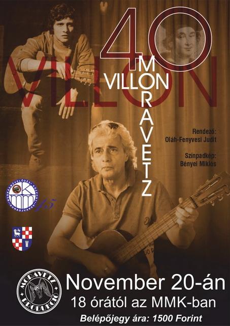 Villon est - Moravetz Levente műsora